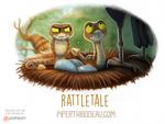 Daily Paint 1597. Rattletale