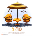 Daily Paint 1598. Beestro