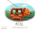 Daily Paint 1599. Petzel
