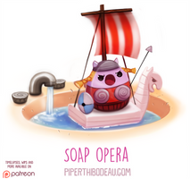 Daily Paint 1612. Soap Opera