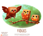 Daily Paint 1613. Fudgies