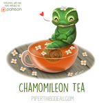 Daily Paint 1624. Chamomileon Tea