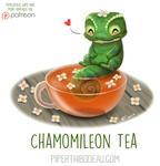 Daily Paint 1624. Chamomileon Tea