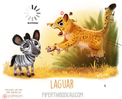 Daily Paint 1625. Laguar