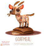 Daily Paint 1628. Goatmeal