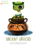 Daily Paint 1629. Ancient Greecko