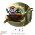Daily Paint 1630. P-Jays