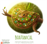 Daily Paint 1633. Boatanical