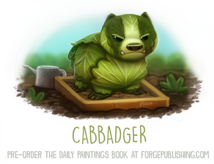 Daily Paint 1637. Cabbadger