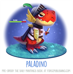 Daily Paint 1638. Paladino by Cryptid-Creations