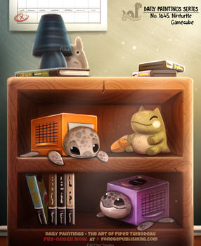 Daily Painting 1645# - Ninturtle Gamecube