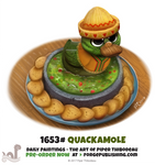Daily Painting 1653# - Quackamole