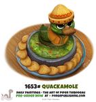 Daily Painting 1653# - Quackamole