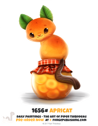 Daily Painting 1656# - Apricat