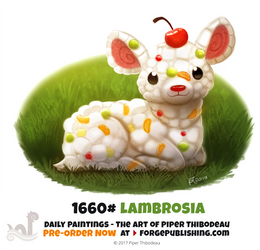 Daily Painting 1660# - Lambrosia