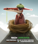 Daily Painting 1662# - Jurrasick