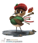Daily Painting 1664# - Sand Piper