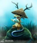 Daily Painting 1694# Rain Cakes