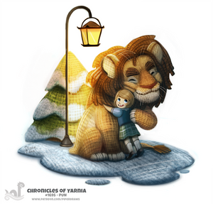 Daily Painting 1695# Chronicles of Yarnia