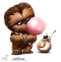 Daily Painting 1701# Chewie Gum