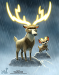 Daily Painting 1703# Thundeer