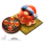Daily Painting 1704# Takoyaki
