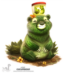 Daily Painting 1707# Cucumbear