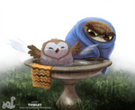 Daily Painting 1711# Towlet