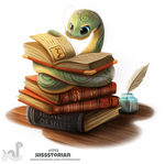 Daily Painting 1713# Hissstorian