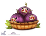 Daily Painting 1724# Figlets