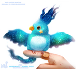 Daily Paint 1750#  Celestatiels - Starry Night