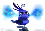 Daily Paint 1752# Celestatiels - Black Hole