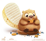 Daily Paint 1759# Briever
