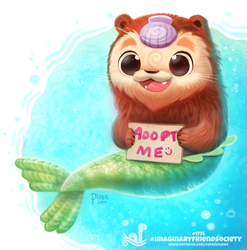 Daily Paint 1775  #ImaginaryFriendSociety by Cryptid-Creations