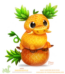 Daily Paint 1777# Swineapple