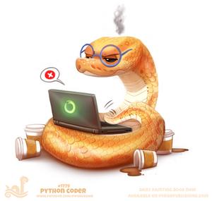 Daily Paint 1779# Python Coder