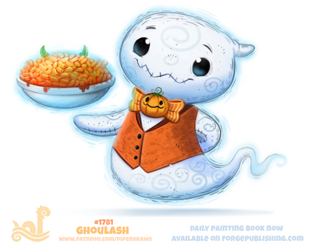 Daily Paint 1781# Ghoulash