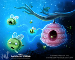 Daily Paint 1783# Zombee Hivemind by Cryptid-Creations