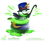 Daily Paint 1784# Witch Ducktor