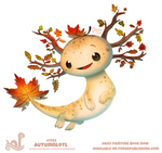Daily Paint 1793# Atumnlotl
