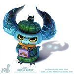 Daily Paint 1801# Ghoul Scout