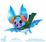 Daily Paint 1806# Frost Bite