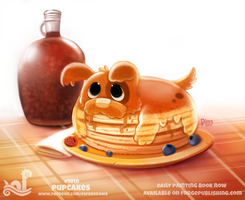 Daily Paint 1810# Pupcakes