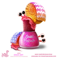 Daily Paint 1811# Snail Polish by Cryptid-Creations