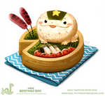 Daily Paint 1816# Bentoad Box