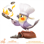 Daily Paint 1819# Cookin'tiel