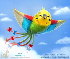 Daily Paint 1820# Parakite