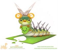 Daily Paint 1822# Cutterpillar