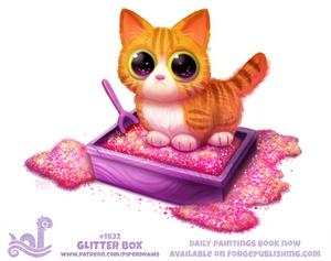 Daily Paint 1832# Glitter Box