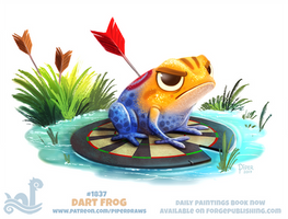 Daily Paint 1837# Dart Frog